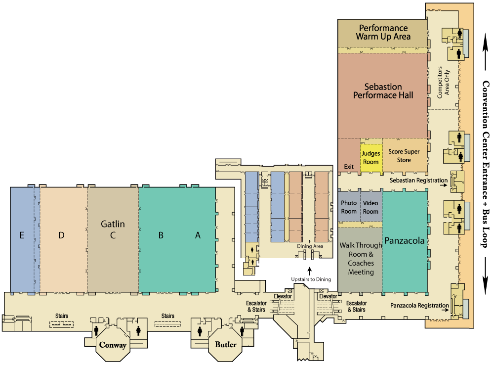 Nationals Hotel Layout